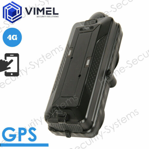 4G Real Time GPS Tracker 6000mAh LIVE Tracking Vehicle Car Magnetic