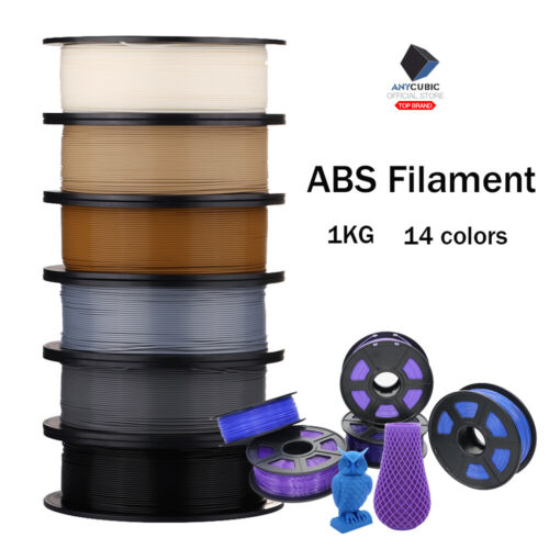 Anycubic 3D Printer ABS Filament 1.75mm 1KG Australia Post