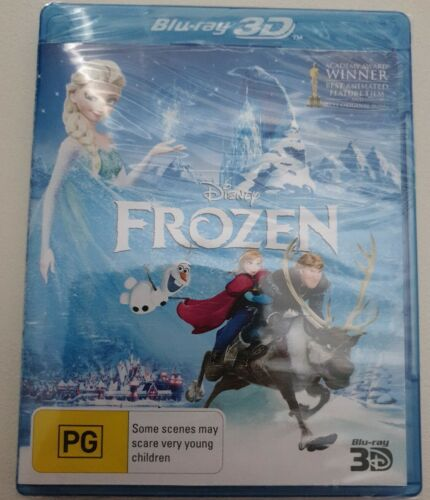 FROZEN 3D BLU RAY - NEW & SEALED