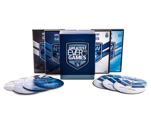 State Of Origin - Greatest Ever Games - New South Wales Blues - DVD Collection