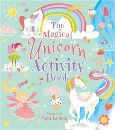 The Magical Unicorn Activity Book by Sam Loman Paperback New