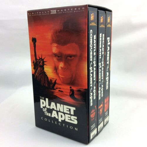 Planet of the Apes - Collection Box Set (VHS, 1999, 5-Tape Set)