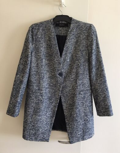 Zara woman jacket,New,Elegant Comfortable Length Size L Made In Morocco Post/fr