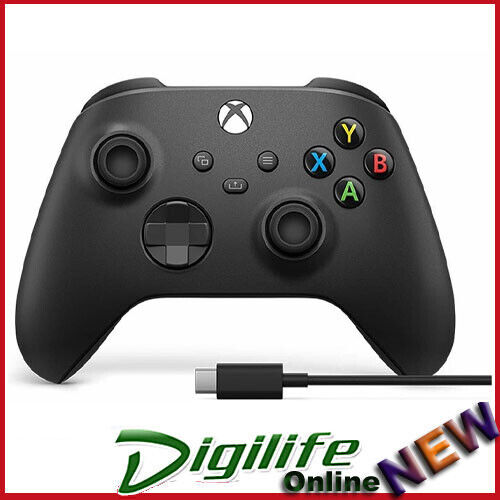 Microsoft Xbox One Wireless Bluetooth Controller, USB cable for Window Black