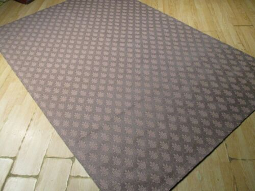 6x8 ABC Collection Designer Flat Weave Handmade Wool Transitional Rug 585358
