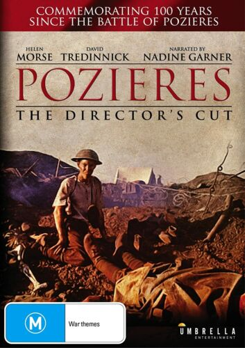 BRAND NEW Pozieres : The Director's Cut (DVD, 2000) ANZAC War Movie 100 Years