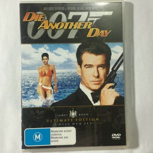 DIE ANOTHER DAY - ULTIMATE ED - DVD 2 DISCS - JAMES BOND 007 - R4 - VGC