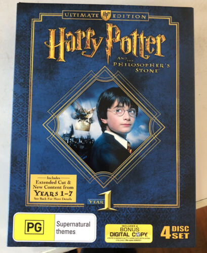Harry Potter and the Philosopher's Stone Ultimate Edition - DVD