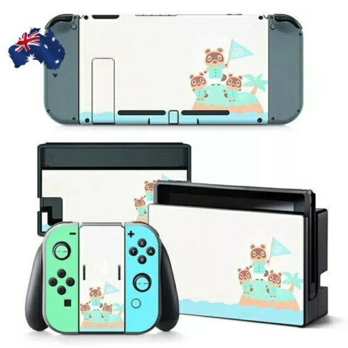 Animal Crossing Skin Sticker vinyl as Nintendo Switch Decal NS Console Housing