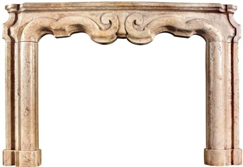 Camino in marmo cornice levigata - Marble fireplace frame smoothed 1380
