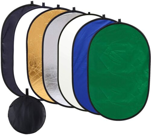 """Photography 90cm*120cm / 35""""*47"""" 7 in 1 Collapsible Multi Disc Light Reflector"""