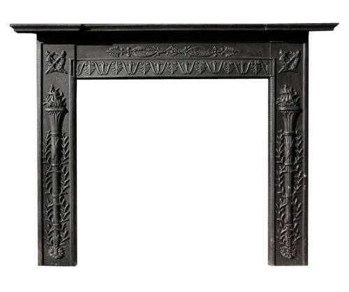 Camino in ghisa - Cast iron fireplace 7548