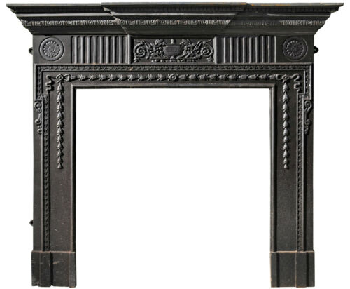 Camino in ghisa - Cast iron fireplace 7545