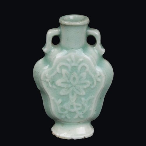 China 18 19 Jh Qing -A Chinese Porcelain Snuff Bottle Snuffbox Chinois Cinese