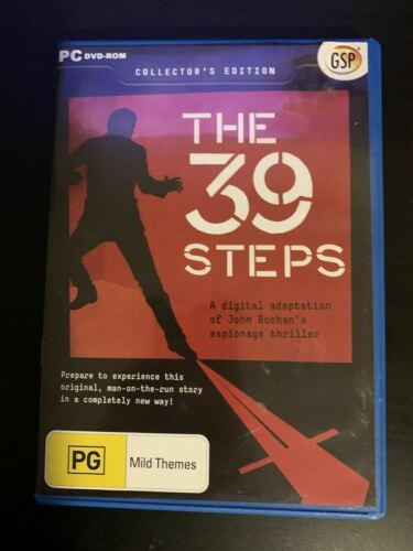 The 39 Steps - PC DVD-ROM GAME