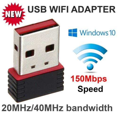 150 Mbps FAST USB Wireless WiFi Network Receiver Adapter 5GHz Dual Band Dongle