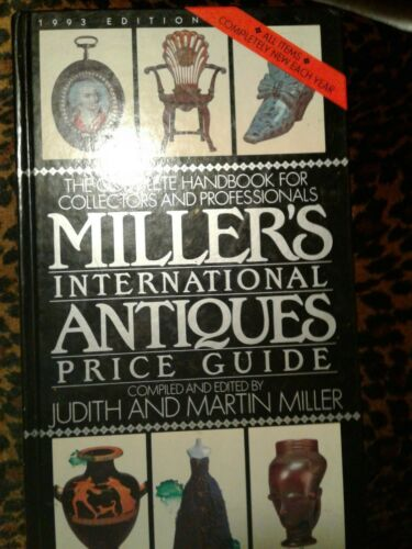 Vintage Miller's International ANTIQUES Price Guide 9,000 Items 1993