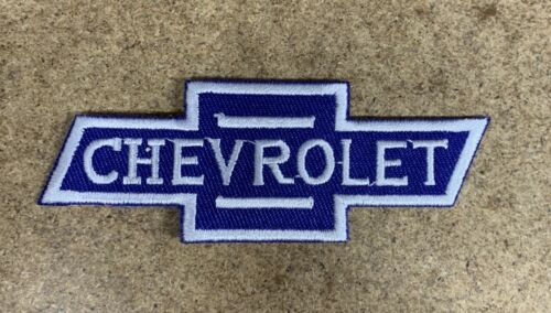 Chevrolet Chev V8 Logo Patch Badge Iron-On Embroidered Patch
