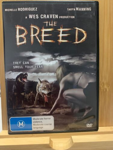 The Breed - DVD - Wes Craven - They Can Smell Your Fear - Region 4 Rare
