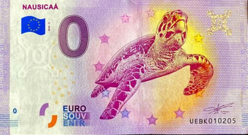 BILLET 0  EURO NAUSICAA   FRANCE    2020 NUMERO DIVERS