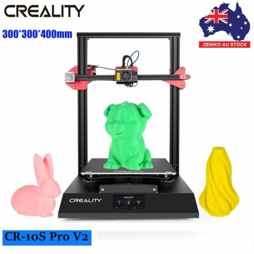 AU Creality CR-10S Pro V2 Upgraded 3D Printer 300*300*400mm Auto Touch Leveling