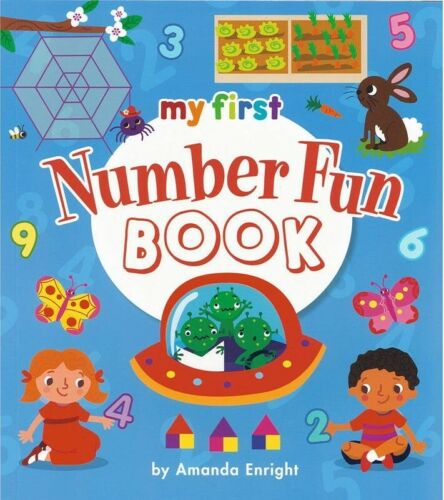 My First Number Fun Book by Amanda Enright Paperback New