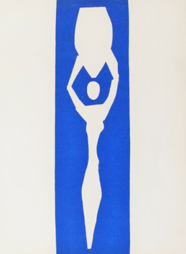 HENRI MATISSE -  WATER CARRIER  - ORIGINAL  LITHOGRAPH - 1958 - FREE SHIP IN US