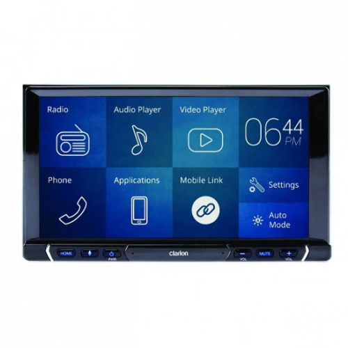 Clarion FX688A Apple car play - Android auto Double Din head unit