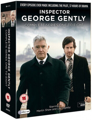 Inspector George Gently: Complete Series One to Eight [Region 2] - DVD - New
