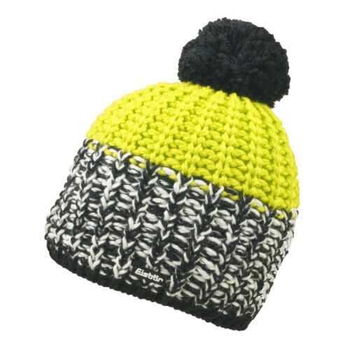 Eisbär Focus Pompon Berretto Sp Donna Uomo Bobble Hat Beretto da Sci Merino Mix