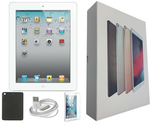 Apple iPad 4 32GB, Wi-Fi Only, 9.7-inch, Black, Bundle Deal, Free 2-Day Shipping