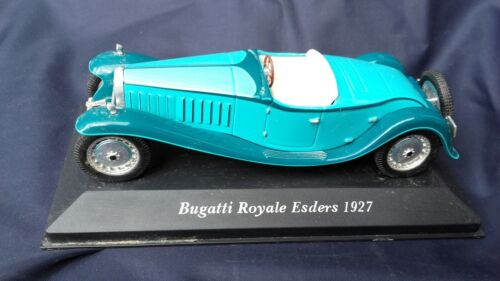 voiture miniature BUGATTI ROYALE ESDERS 1927 1/43  collection jouet