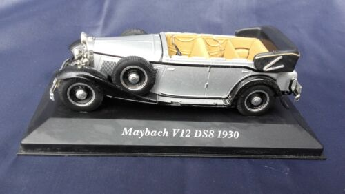 voiture miniature MAYBACH V12 DS8 1930  1/43  collection jouet