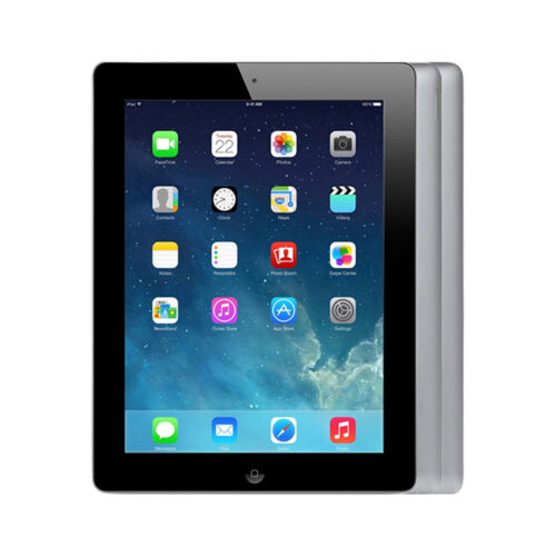 Apple iPad 4th Gen - Slightly Imperfect - 16/32/64/128GB Black White