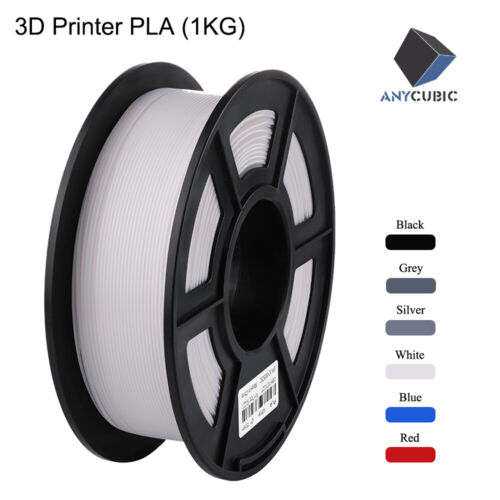 ANYCUBIC 1.75mm PLA / ABS / TPU Filament Mutil-Colored For FDM 3D Printers AU