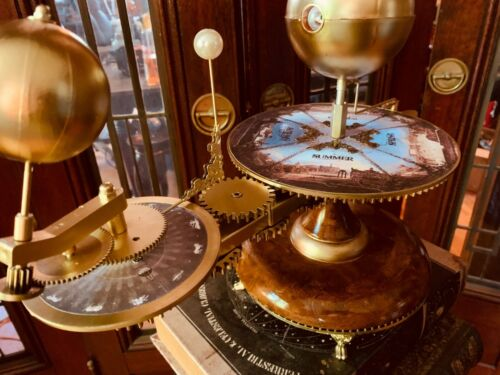 FLASH SALE SOLAR SYSTEM MODEL ORRERY W ZODIAC SIGNS PLANETARIUM SPACE <br/> LOWEST PRICE IT WILL BE OFFERED THIS YEAR