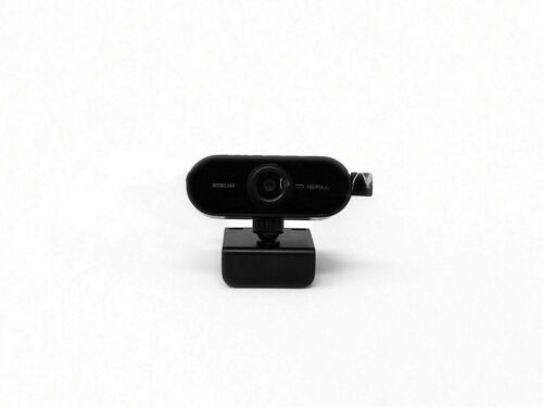 USB Full HD Webcam With Microphone For Desktop & Laptop,Plug & Play | Easy Mount