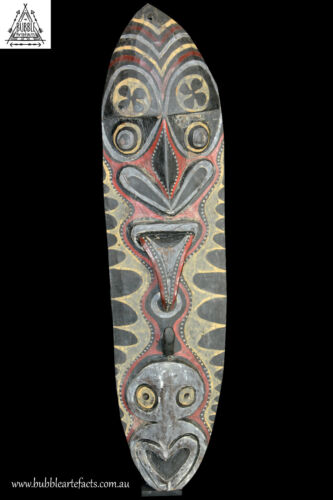 Large Yam Cult House Mask, Washkuk Hills Region, Papua New Guinea, PNG, Oceanic