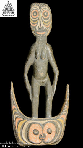 Guardian Suspension Hook Figure, Iatmul, Papua New Guinea, PNG, Oceanic
