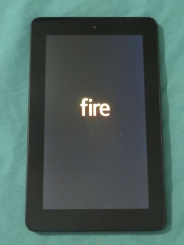 """Amazon Fire 7 Touchscreen Tablet Kindle 7"""" Display 8 GB Black SV98LN Great Cond"""