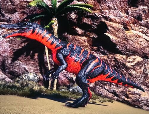 ARK XBOX PVE TOP STAT BARYONYX DEADPOOL RED BLACK EGGS DP BARY WATER CAVE DINO