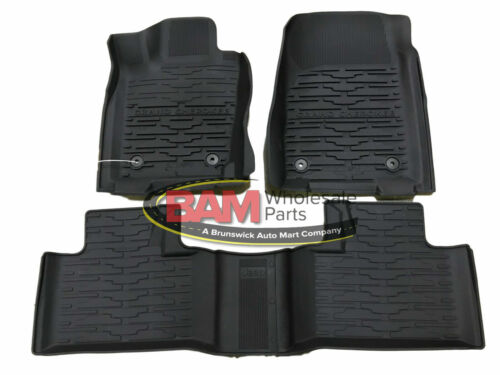 2016-2021 New Jeep Grand Cherokee All Weather Slush Mats Bucket Style Mopar OEM <br/> Ships Same Day If Ordered By 11:00 AM PT (2:00 PM ET)