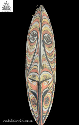 Powerful Mwai Ancestor Spirit Mask, Tambanum, PNG, Papua New Guinea, Oceanic