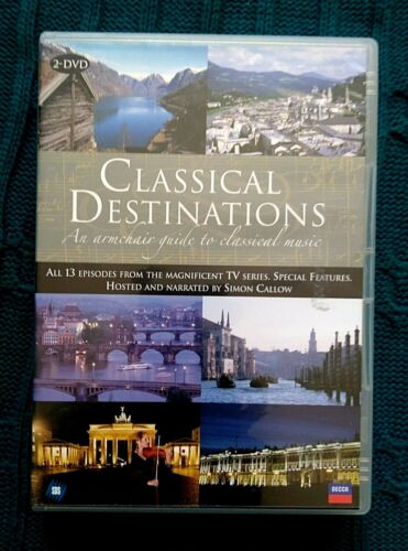 CLASSICAL DESTINATIONS : AN ARMCHAIR GUIDE TO CLASSICAL MUSIC-DVD, 2-DISC-R-ALL