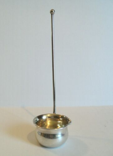 Antique Baker-Manchester Sterling Silver Toddy Ladle