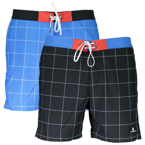 Costume Karl Lagerfeld Check Boxer Boardshort  mare uomo KL19MBS07