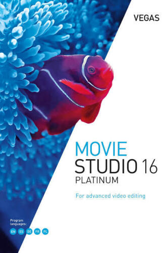 Magix Vegas Movie Studio 16 Platinum Digital Software for Windows