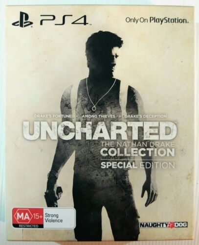 Uncharted: The Nathan Drake Collection Special Edition G2 Steelbook | Sony PS4