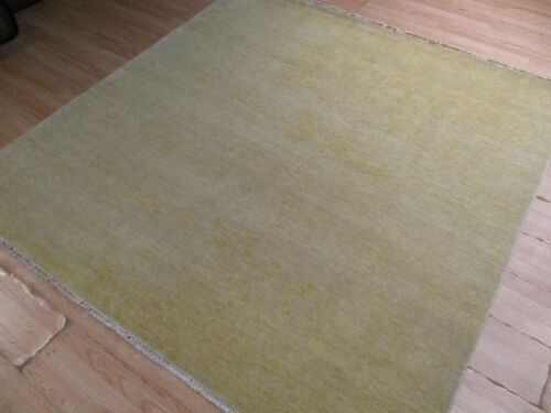 6x7 Modern ABC Collection Vegetable Dye Handmade-knotted Wool Rug 585674