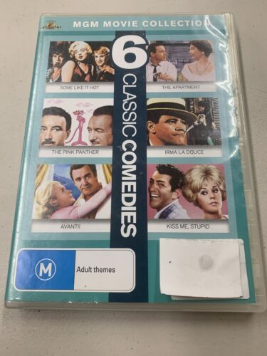 6 dvd pack classic comedies mgm movie collection